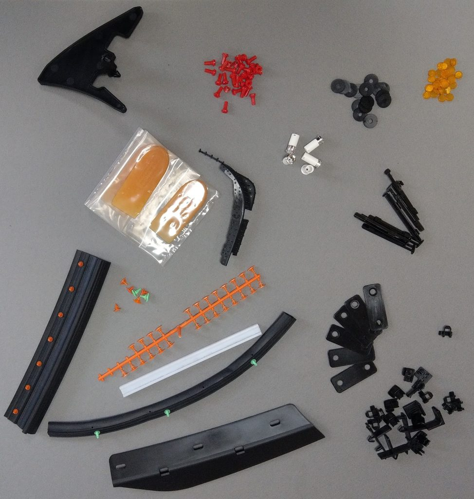 Automotive injection moulded products