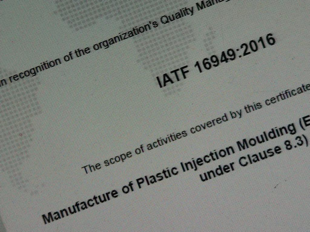 AJKM IATF 16949 2016 Certificate