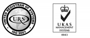 Badges for United Registrar of Systems | ISO 9001